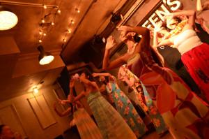 渋谷 貸切 パーティー GREEN'S LINE フラダンス (1)