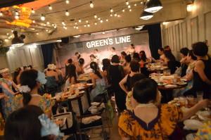 渋谷 貸切 パーティー GREEN'S LINE フラダンス (4)