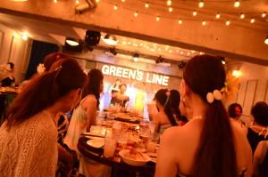 渋谷 貸切 パーティー GREEN'S LINE フラダンス (5)