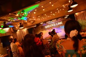 渋谷 貸切 パーティー GREEN'S LINE フラダンス (8)